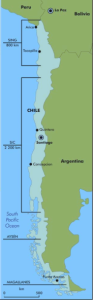 Chile's four separate transmissions grids